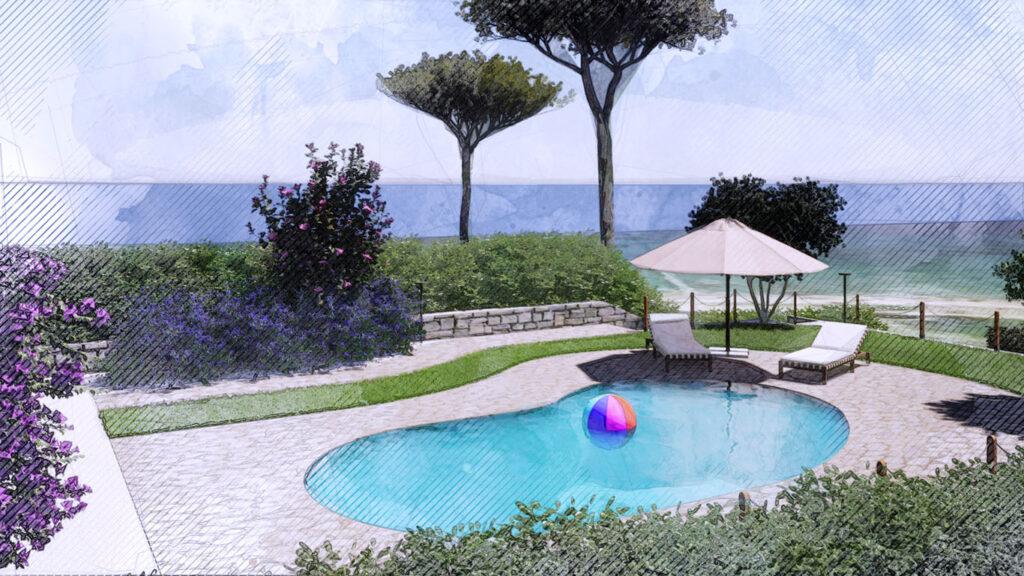 Palmieri Studio desiderata per progetto giardino villino.