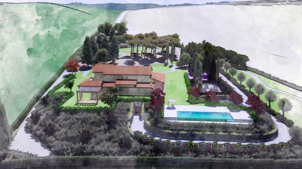 Desiderata progetto Villa FG Palmieri Studio