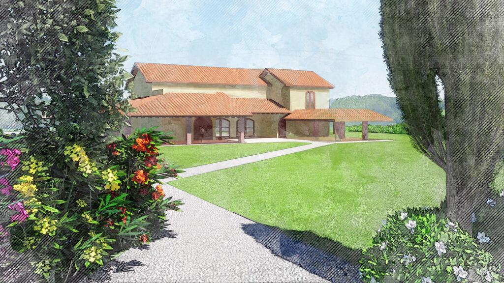 Analisi del contesto progetto Villa FG Palmieri Studio