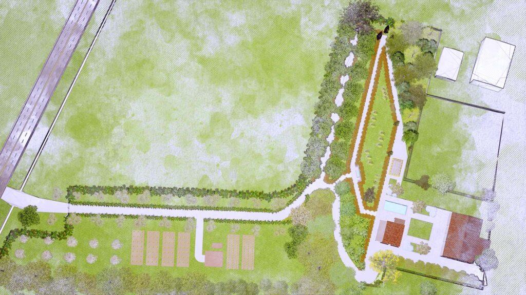 Soluzione progettuale progetto Casale FC Palmieri Studio